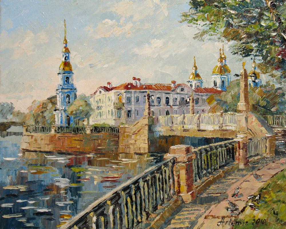 ... Городской пейзаж. Виды Санкт: artemis-spb.narod.ru/spb1.html