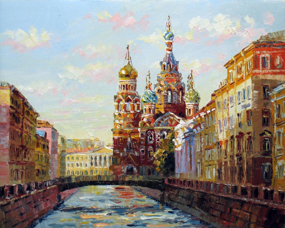 Картинки города пейзаж